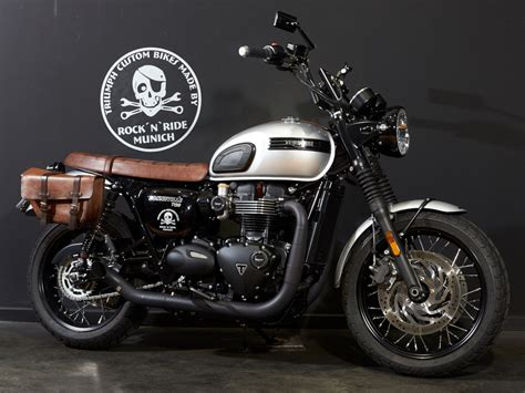 "Custom Bike : Bonneville T120 ""La Cucaracha"""