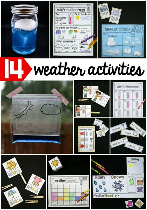 Weather Activity Pack - Playdough To Plato