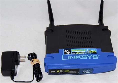 Linksys WRT54GS Version 5 Wireless G Broadband Router with