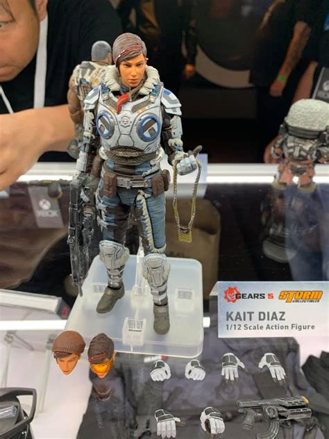 Gears of War 5 Figure Revealed by Storm Collectibles - The