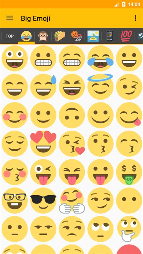 Big Emoji for chat » Apk Thing - Android Apps Free Download