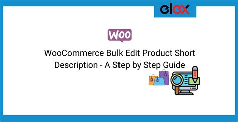 WooCommerce Bulk Edit Product Short Description - A Step