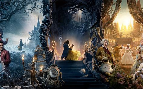 Wallpaper Beauty and the Beast, 4K, Movies, #5947