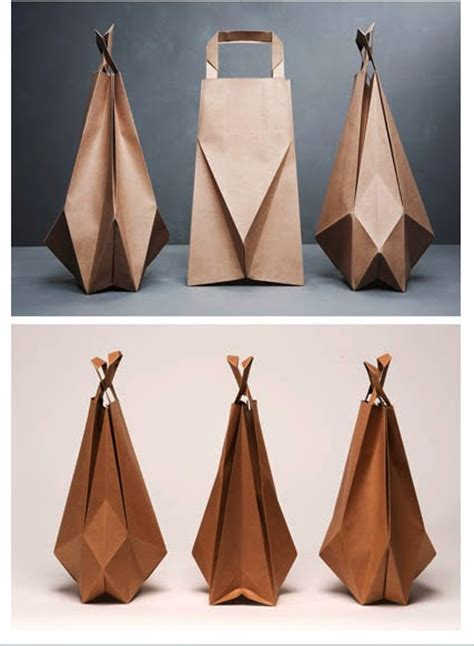 nauli: Friday Favourites: Origami brown paper bags by Ilvy