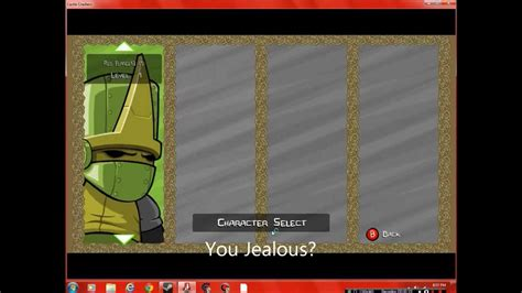 Castle Crashers Steam Edition: UNLOCK CHARACTERS WITH
