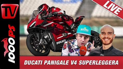 Video: Ducati Panigale V4 Superleggera 2020 - 1000PS Live