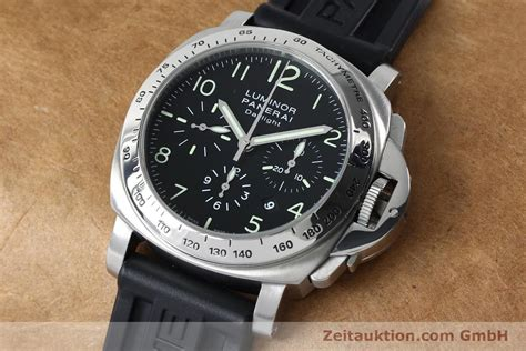 Panerai Luminor Chrono Daylight Chronograph Stahl