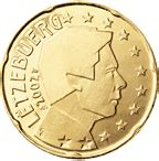 Pièces Euro Luxembourg