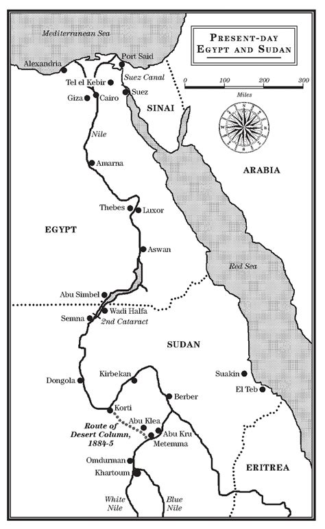 David Gibbins — PHARAOH: the maps
