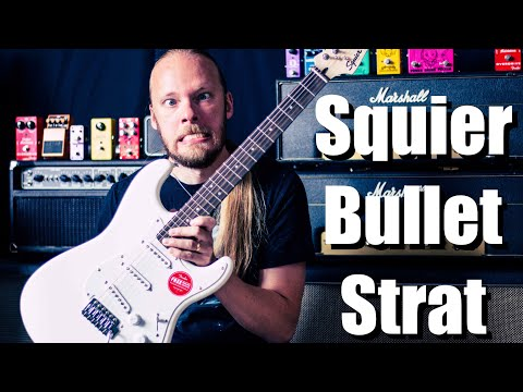 Unboxing: Fender Squier Bullet Stratocaster HSS with