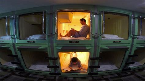 Tokyo Capsule Hotel Experience ★ ONLY in JAPAN - YouTube
