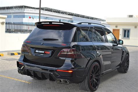 700 hp Brabus ML 63 AMG Doesn't Play Around - autoevolution