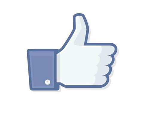 Like button of Facebook in large size | Picturolisis