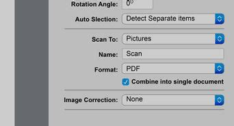 How do i scan a document on my canon printer