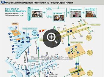 Terminal 3 of Beijing Capital Airport: Airlines, Arrivals, Map