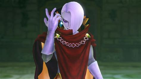 Ghirahim shows off his tongue action in this new Hyrule