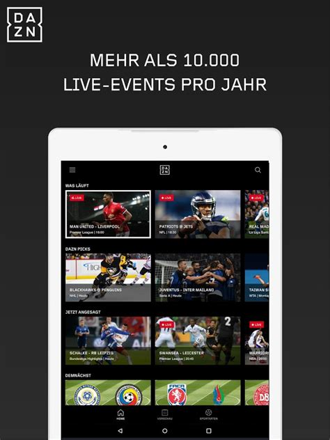DAZN – Android-Apps auf Google Play