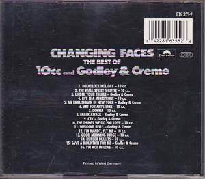 10cc: Godley & Creme: Changing Faces - The Best Of 10cc