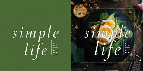 Simple Life, Free Cookbook Template for InDesign • Pagephilia