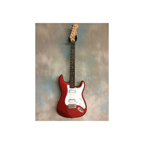 Bullet Stratocaster HH Red Sparkle Solid Body Electric