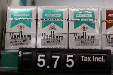 This is why the UK has banned menthol cigarettes, and if