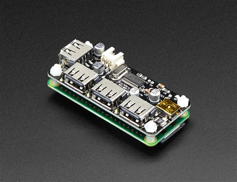 NEW PRODUCT – Zero4U – 4 Port USB Hub for Raspberry Pi