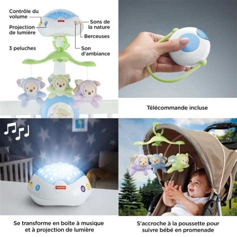 Fisher-Price 3-in-1 Traumbärchen Mobile Mobile | real