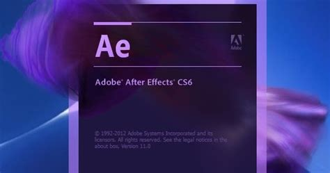 Download Adobe After Effects CS6 + Crack 2018 ~ RNG