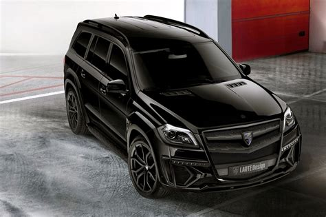 Larte Design's Mercedes-Benz GL-Class Has Joined the Dark