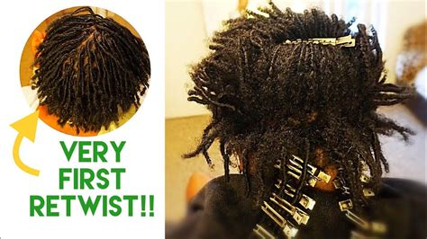 VERY FIRST RETWIST ON LONG STARTER COILS! - YouTube