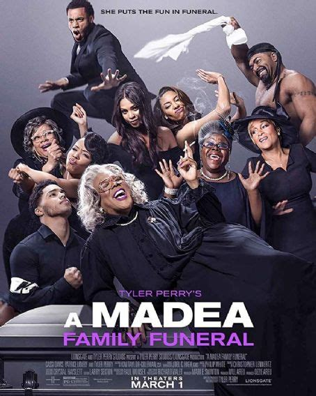 Tyler Perry's A Madea Family Funeral Cast Members List