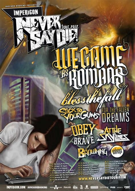 Looking Back: Every Never Say Die! Tour Lineup Since 2007