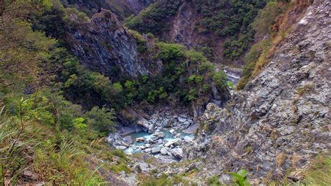 Snapshot: Entrenched Meander at Taroko Gorge, Taiwan | The