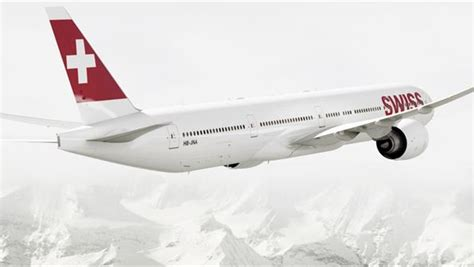 SWISS Boeing 777-300ER Offers Inflight Internet and