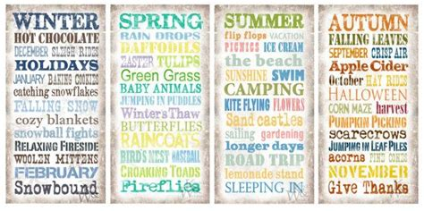 Quotes About The Four Seasons