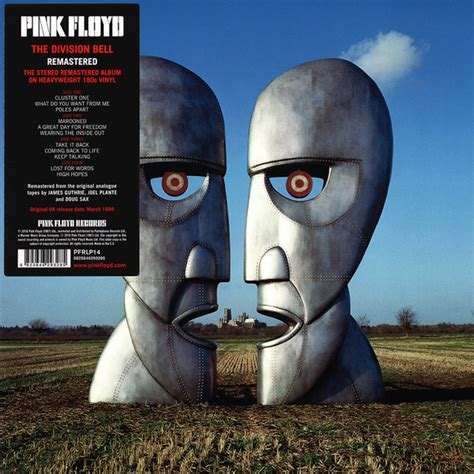 Pink Floyd - The Division Bell (Vinyl, LP, Album) at Discogs