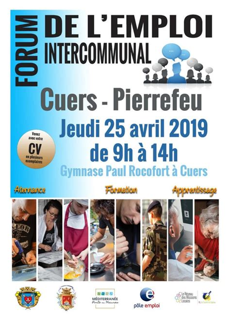 Forum de l'Emploi Intercommunal de Cuers et Pierrefeu