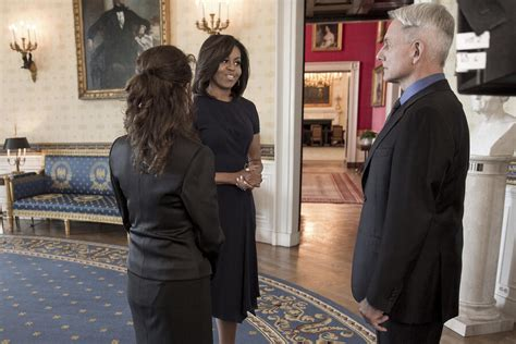 First Lady Michelle Obama Guest-Stars on NCIS – See a