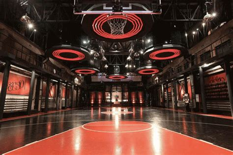 Nike Lebron6 Interactive Basketball Training Centre on Behance