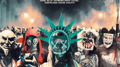 """The Purge"": Teil 1, 2, 3 & 4 im Stream legal online sehen"