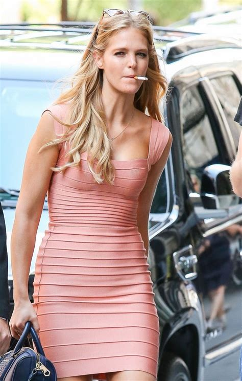 Erin Heatherton arrives at a Victoria's Secret event with