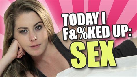 Today I F&KED Up: Four Real People Share Their Worst Sex