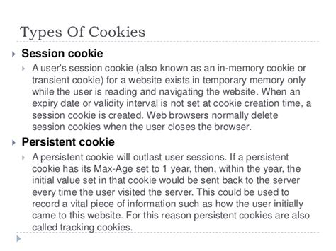 Cookies and sessions