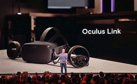 OC6: Facebook Says Oculus Link Will Also Work with SteamVR