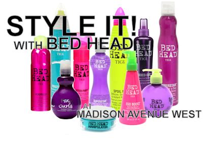 TIGI Bed Head Styling Products at Madison Avenue West