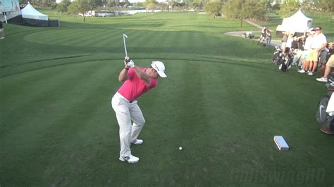 GOLF SWING 2013 - PAUL CASEY IRON DRIVE - ELEVATED DTL