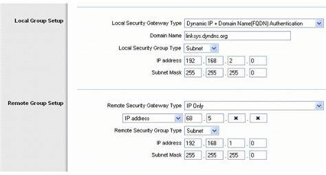 Linksys Official Support - Setting Up a VPN Tunnel Using a