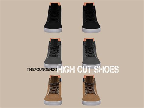 theyoungenzo's High Cut Shoes
