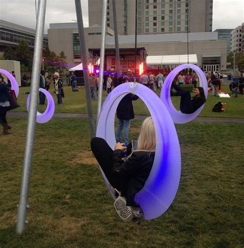 Wait Your Turn for the Swings at Boston's Adult Playground
