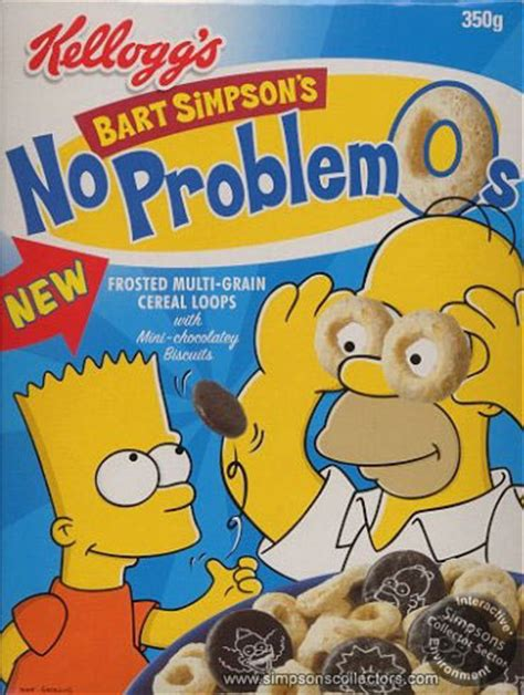 No ProblemO's Cereal - Simpsons Wiki